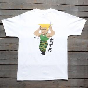 BAIT x Street Fighter Men Chibi Guile Tee (white)