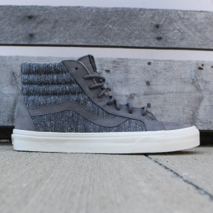 Vans Men SK8-Hi Reissue DX - Tweed (gray / tweed)