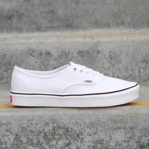 Vans Men Authentic Lite Plus - Canvas (white / true white)