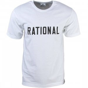 Undefeated Men Rational Tee (white)