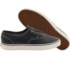 Vans Men Authentic - Leather (blue / dress stripes)