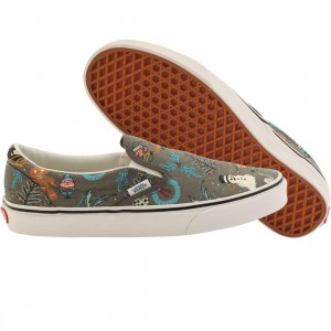 Vans Men Classic Slip-On - Van Doren (silver / holiday pewter)