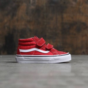Vans Little Kids Sk8-Mid Reissue V (white)