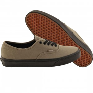 Vans Men Authentic - Black Sole (black / gray brindle)