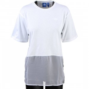 Adidas Women Basketball Tee Dress (white)