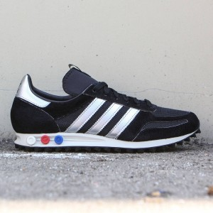 Adidas Consortium Men LA Trainer OG MIG (black / metallic silver / core black)