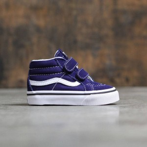 Vans Toddlers Sk8-Mid Reissue V (blue / true white)