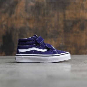 Vans Little Kids Sk8-Mid Reissue V (blue / patriot / white)