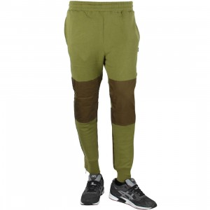 Stussy Men Military Fleece Pants (olive)