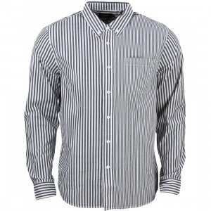 Stussy Men Multi Stripe Shirt (black)