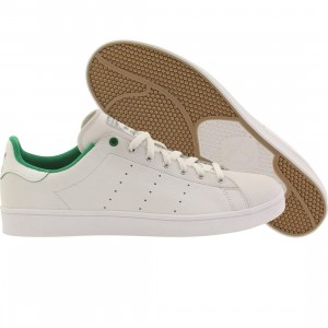 Adidas Men Stan Smith Vulc (white / green / running white)