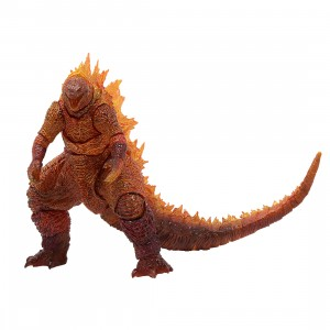 Bandai S.H. MonsterArts Godzilla King Of The Monsters 2019 Burning Godzilla Figure (orange)