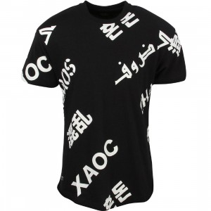 10 Deep Men Caution All Over Tee (black)