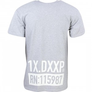 10 Deep Men RN Tee (gray / heather)