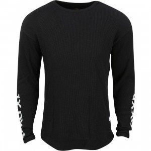 10 Deep Men Division Thermal  Sweater (black)