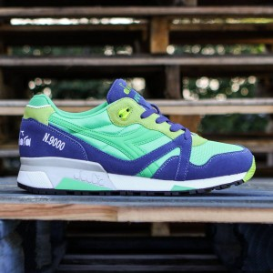 Diadora Men N9000 NYL (green / blue)