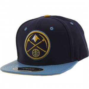 Pro Standard x NBA Denver Nuggets Logo Adjustable Cap (navy)