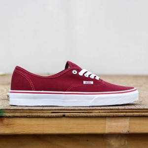 Vans Men Authentic - Pop Check (brown / rhubarb / bittersweet)