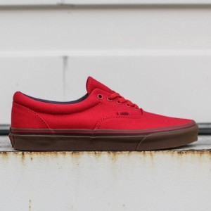 Vans Men Era - Canvas (red / racing gum)
