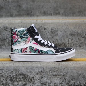 Vans Women SK8-Hi Slim - Mesh Metallic (multi / true white)