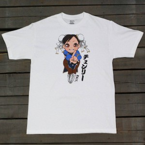 BAIT x Street Fighter Men Chun Li Tee (white)