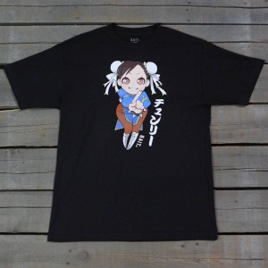 BAIT x Street Fighter Men Chun Li Tee (black)
