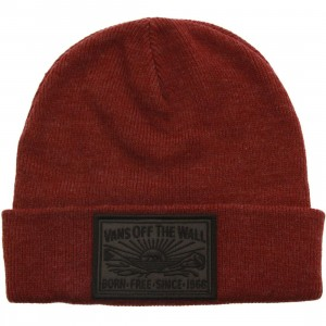 Vans Adare Beanie (burgundy / bordeaux heather)