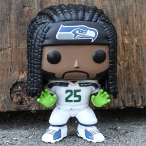 Funko POP Sports NFL Seattle Seahawks - Richard Sherman (green / white)