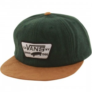 Vans Patched Unstructured Cap (white / sycamore natural)