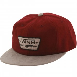 Vans Patched Unstructured Cap (gray / port)