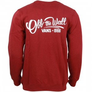 Vans Men Sloat Sweater (red / bordeaux)