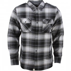 Vans Men Kepler Flannel Shirt (black)