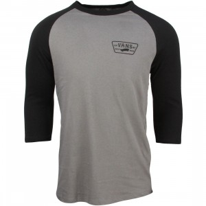 Vans Men Built Tough Raglan Tee (black / graphite)