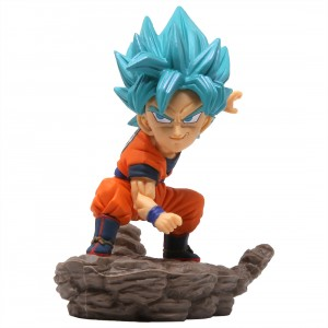 Banpresto Dragon Ball Super World Collectable Diorama Vol.3 Super Saiyan Blue Goku Figure (blue)