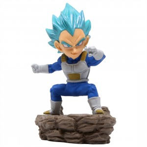 Banpresto Dragon Ball Super World Collectable Diorama Vol.3 Super Saiyan Blue Vegeta Figure (blue)