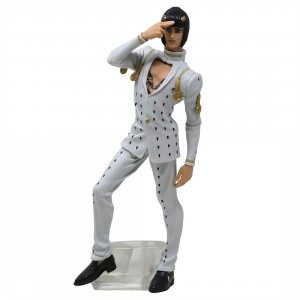 Banpresto JoJo's Bizarre Adventure Golden Wind Bruno Bucciarati Arrivederci Figure (white)