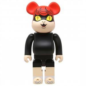 Medicom Nekome Kozo Cat Eyed Boy 400% Bearbrick Figure (black)