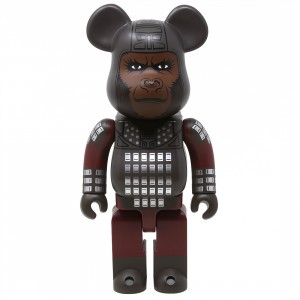 Medicom Planet of the Apes General Ursus 400% Bearbrick Figure (gray)