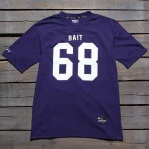 BAIT Men 68 Football Tee (dark blue)