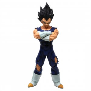 Banpresto Dragon Ball Z Grandista Nero Vegeta Figure (blue)