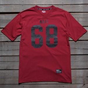 BAIT Men 68 Football Tee (burgundy)