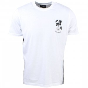 Lazy Oaf Men Hydrate Tee (white)