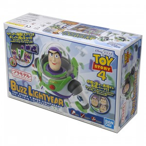 Bandai Cinema-Rise Standard Toy Story Buzz Lightyear Model Kit (white)