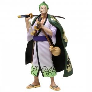 Banpresto One Piece Roronoa Zoro Japanese Style Figure (green)