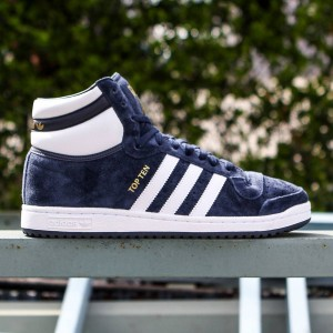 Adidas Men Top Ten Hi (navy / white / collegiate navy)