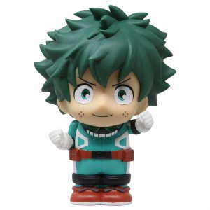 Monogram My Hero Academia Deku Figural PVC Bank (green)