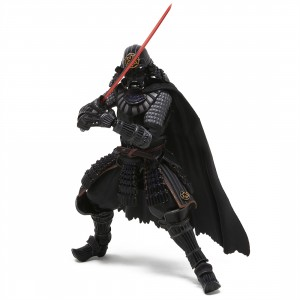 Bandai Meisho Movie Realization Star Wars Samurai General Darth Vader Figure (black)