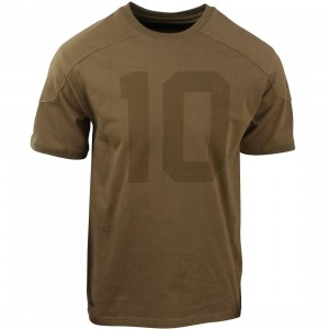 10 Deep J. Brown Football Jersey (olive / drab)