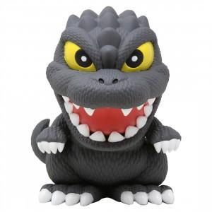 Monogram Godzilla Cutie Figural PVC Bank (gray)