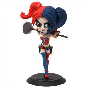 Banpresto Q Posket DC Comics Harley Quinn Figure - Ver B (red / blue)